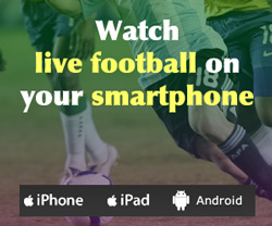 iPad, iPhone, Android football streaming